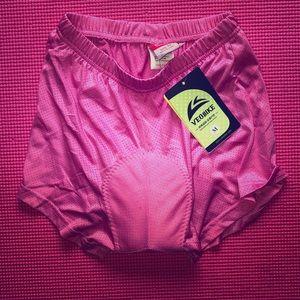 Pants - Padded Biking Shorts